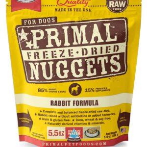 Primal 5.5oz Canine Rabbit Formula Nuggets