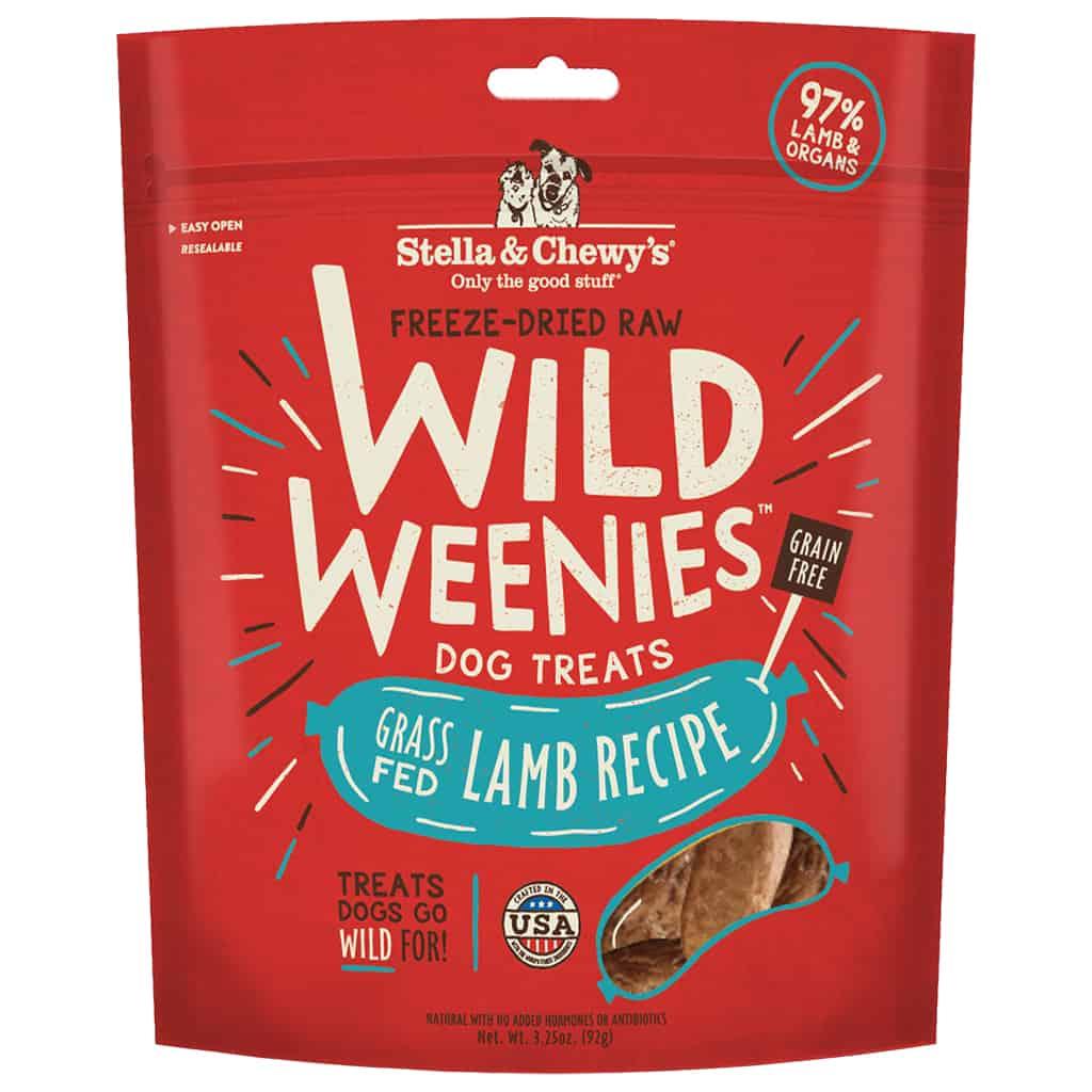 S&C Wild Weenies Grass Fed Lamb 3.25OZ