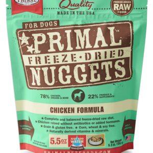 Primal 5.5oz Canine Chicken Formula Nuggets