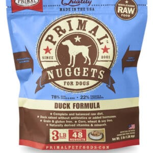 Primal 3lb Canine Duck Formula Nuggets