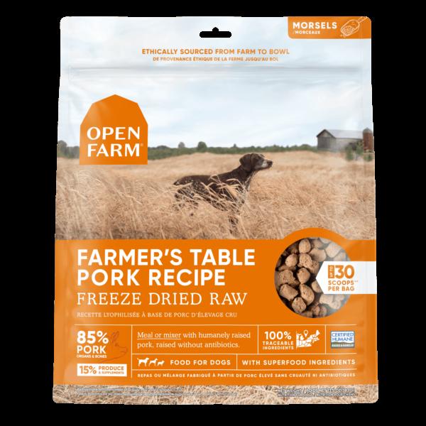 Open Farm Freeze Dried Raw Pork 13.5 OZ 1