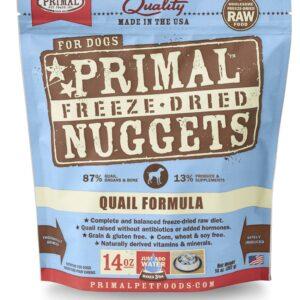 Primal 14oz Canine Quail Formula Nuggets