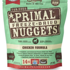 Primal 14oz Canine Chicken Formula Nuggets