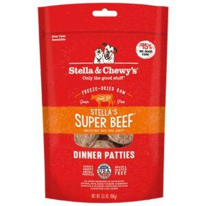S&C Dinner Patties Stella's Super Beef 5.5OZ