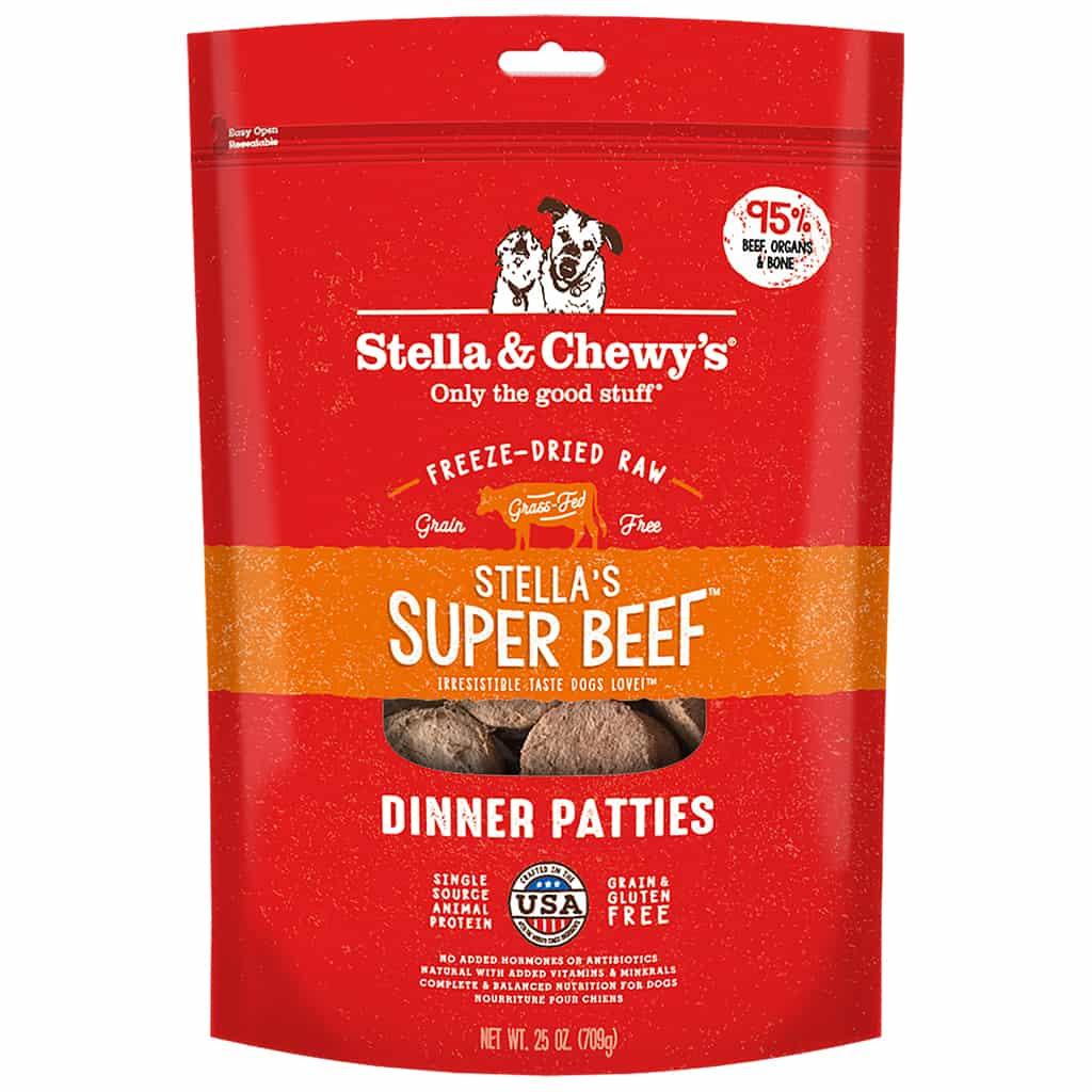 S&C Dinner Patties Stella's Super Beef 25OZ