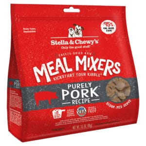 S&C Purely Pork Meal Mixers Freeze Dried 3.5Z