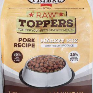 Primal Raw Mix Meal Topper Pork 5lb