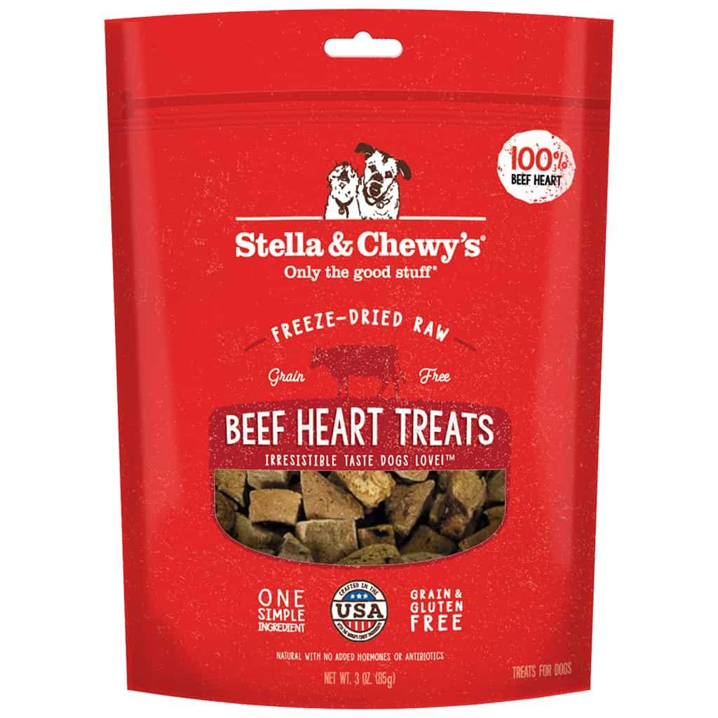 S&C Beef HEART Freeze Dried Treat 3.0 oz