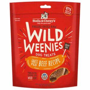 S&C Wild Weenies Grass Fed Beef 3.25OZ