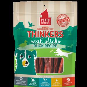 Plato Thinkers Duck Meat Stick Dog Treats