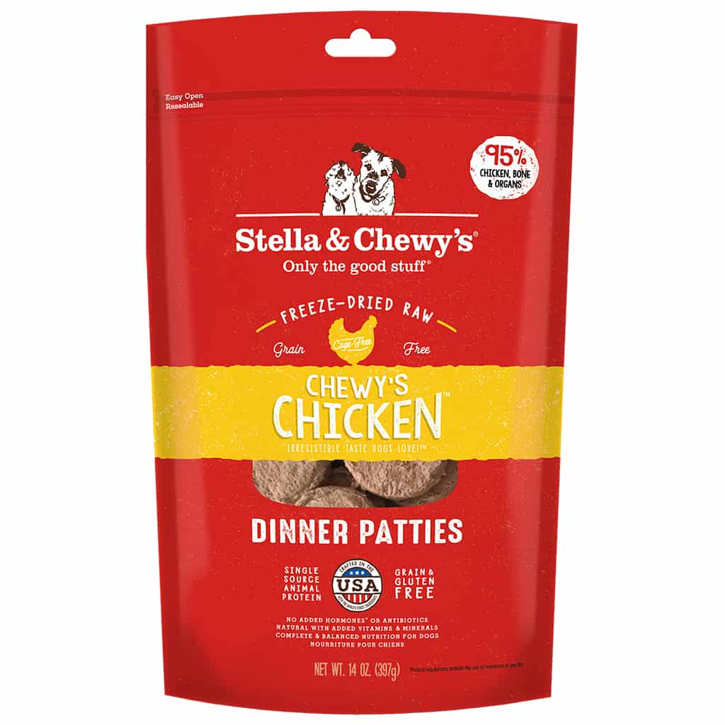 S&C Chicken Freeze Dried Meal 14Z