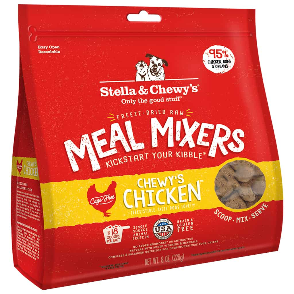 S&C Chicken Meal Mixer Freeze Dried 8.0 Z
