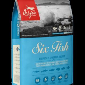 NS ORIJEN Six Fish Dog Front Right 6kg