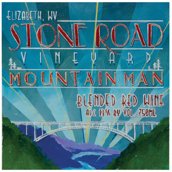 Stone Road Vineyard Mountain Man Red Blend