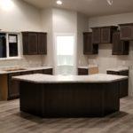 White Laminate Countertop Full Kitchen