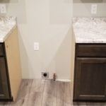 White Countertop Cabinet Counter