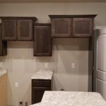 White Laminate Countertop Pantry