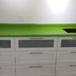 Lime Laminate Countertop Counter
