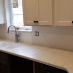 White Solid Surface Counter