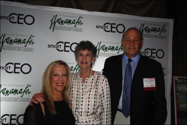 Linda McAleer with Sponsor Shechtman Marks Devor PCI at 2015 Brava Award Ceremony