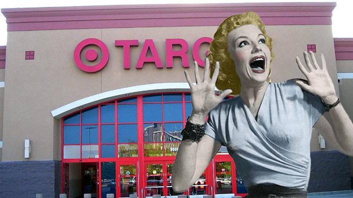 Trans bath target woman scream