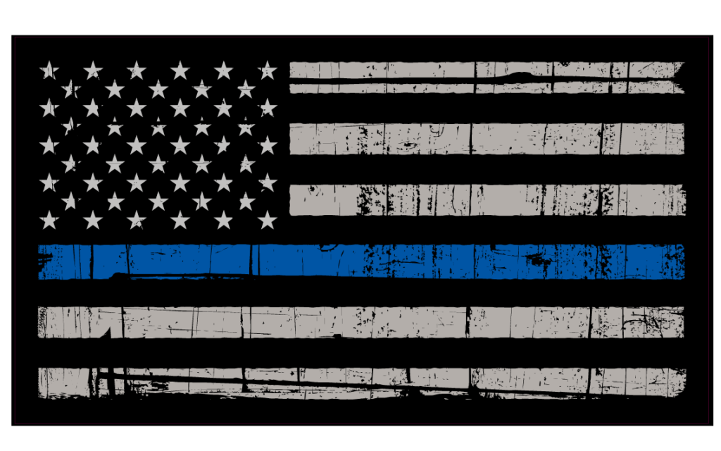 police-thing-blue-line-flag