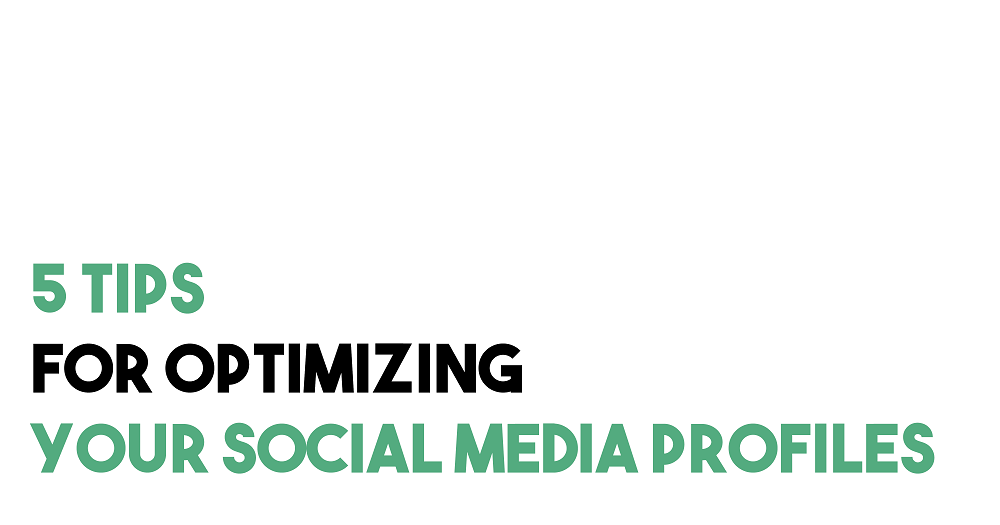 5 Tips for Optimizing Your Social Media Profiles | Spill the TEA with Kenzie