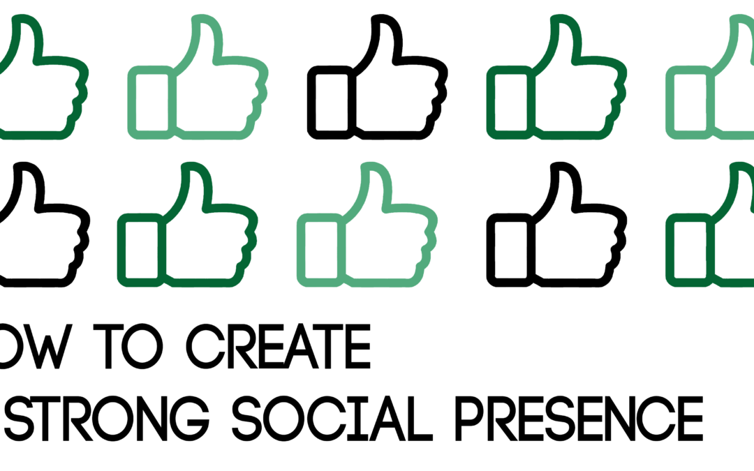 MT blog graphic how to create a strong social presence