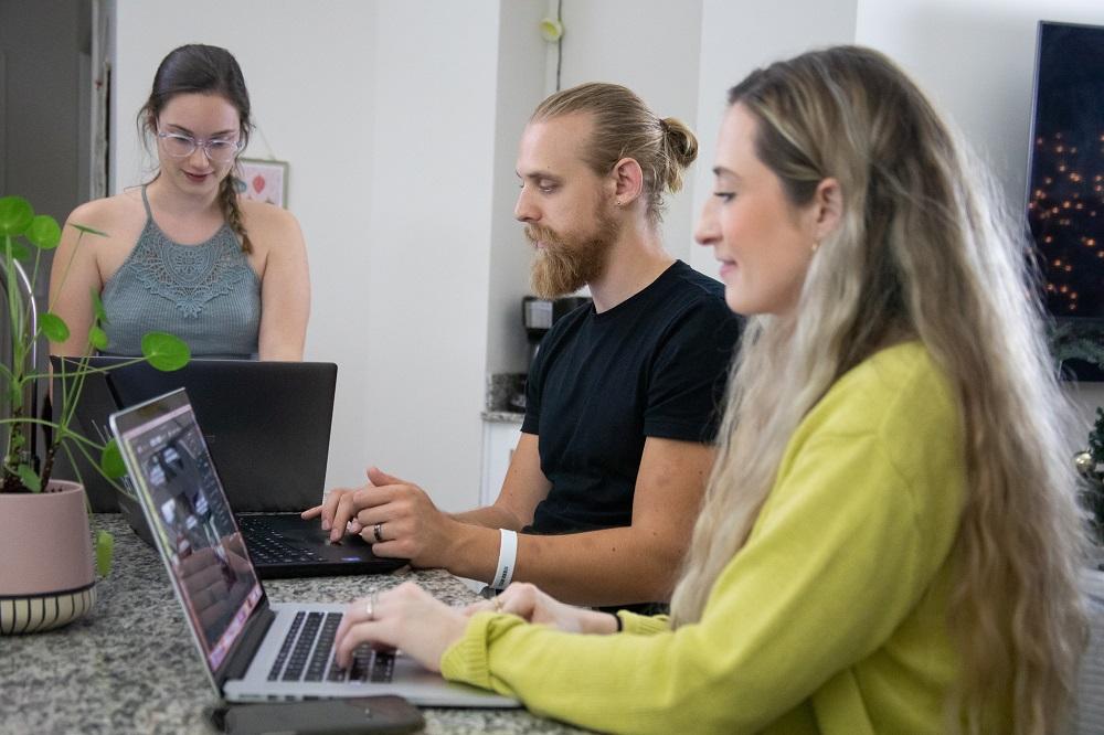 Marketing TEA team working 2