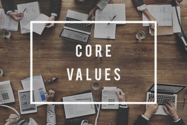 Definig Core Values