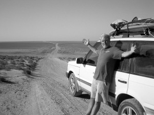 Craig Peterson in Baja