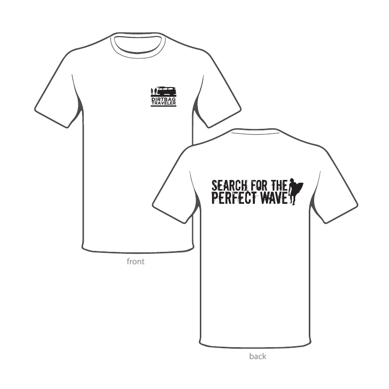 'Search For The Perfect Wave' T-Shirt