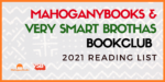 MahoganyBooks + Very Smart Brothas 2021 Book Club Reading List