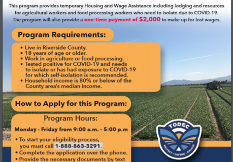 Riverside County Housing for the Harvest Program