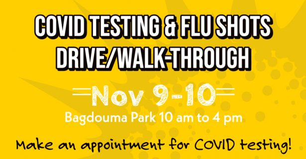 Free COVID Testing & Flu Shots Drive/Walk Through