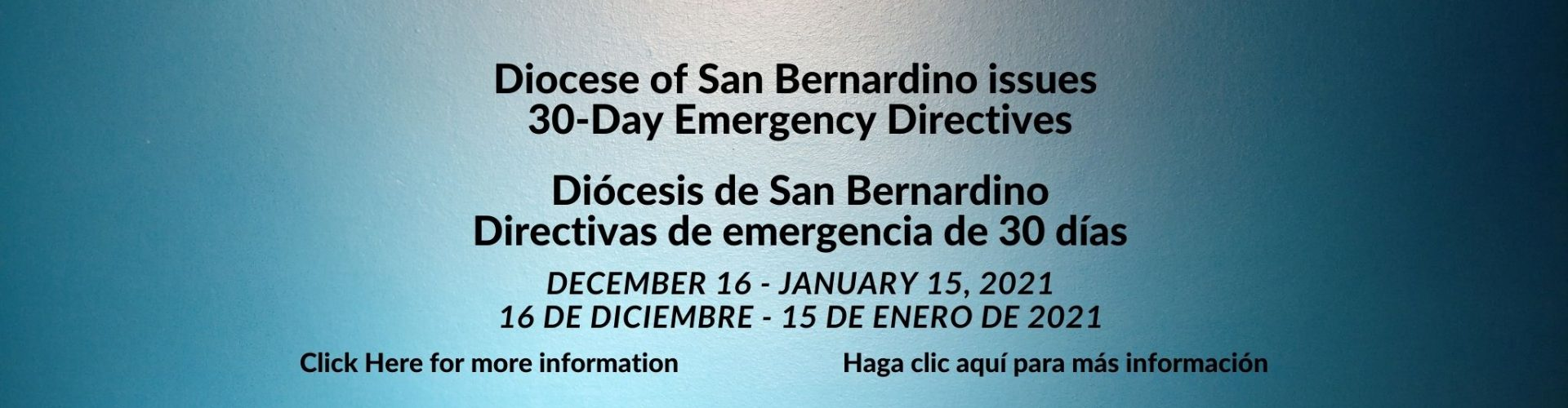 30-Day Emergency Directives