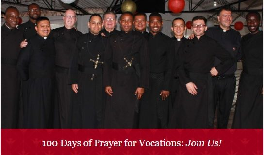 100 Days of Prayer for Vocations: Join Us!