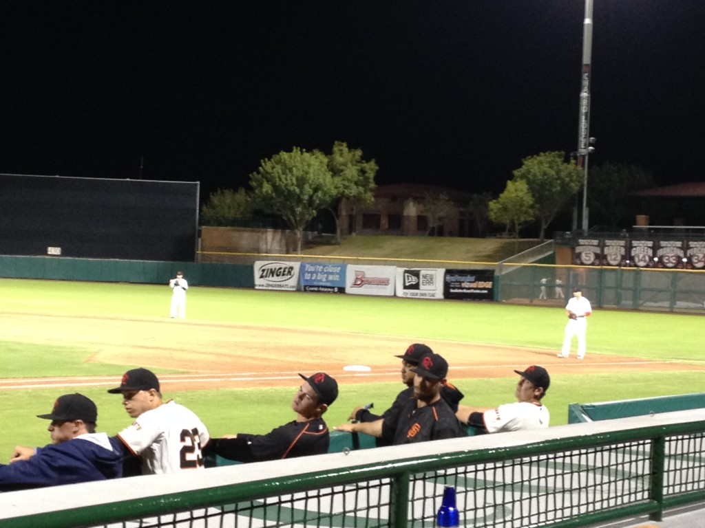 Watching the SF Giants' prospects during Arizona Fall Ball