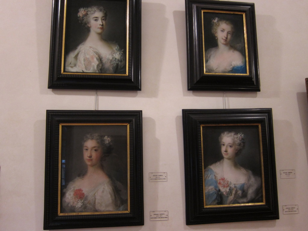 Early match.com! Portraits were produced and displayed as a way to entice potential suitors for these ladies.