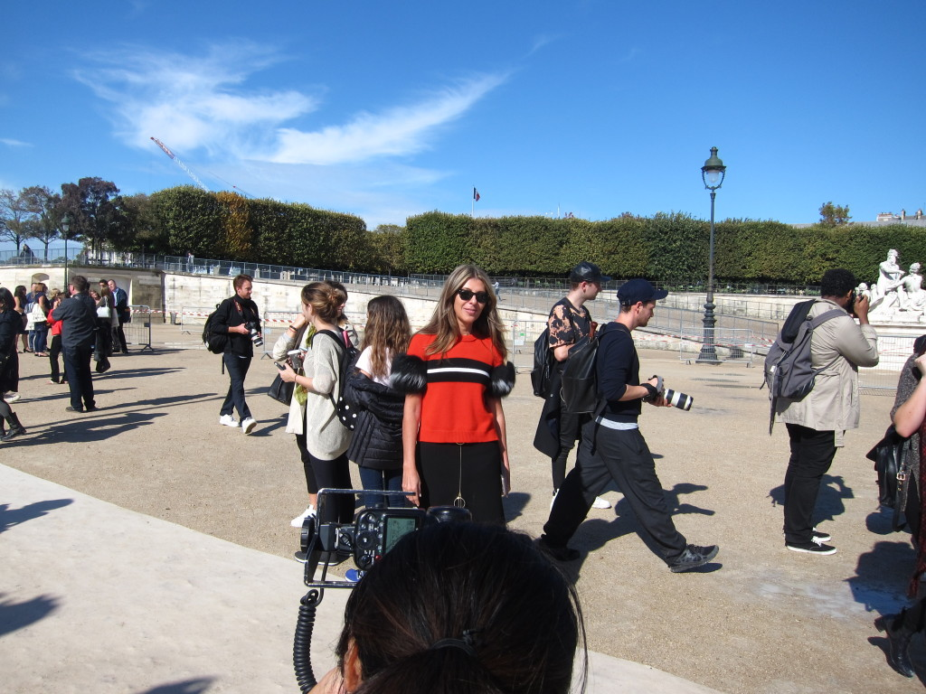 Nina Garcia attending Paris Fashion week!
