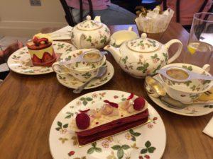 Enjoy tea at Harrod's in London. Yum!
