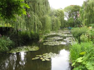 Feeling the inspiration of Monet's Giverny