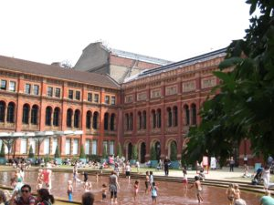 Lunch at the Victoria & Albert museum