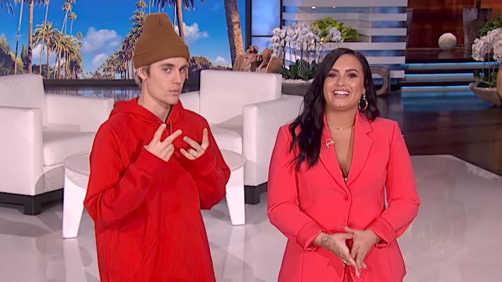 Justin Bieber, Demi Lovato