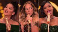 Ariana Grande, Mariah Carey, Jennifer Hudson