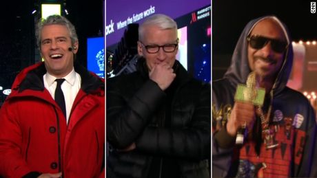 Andy Cohen, Anderson Cooper, Snoop Dogg 2021