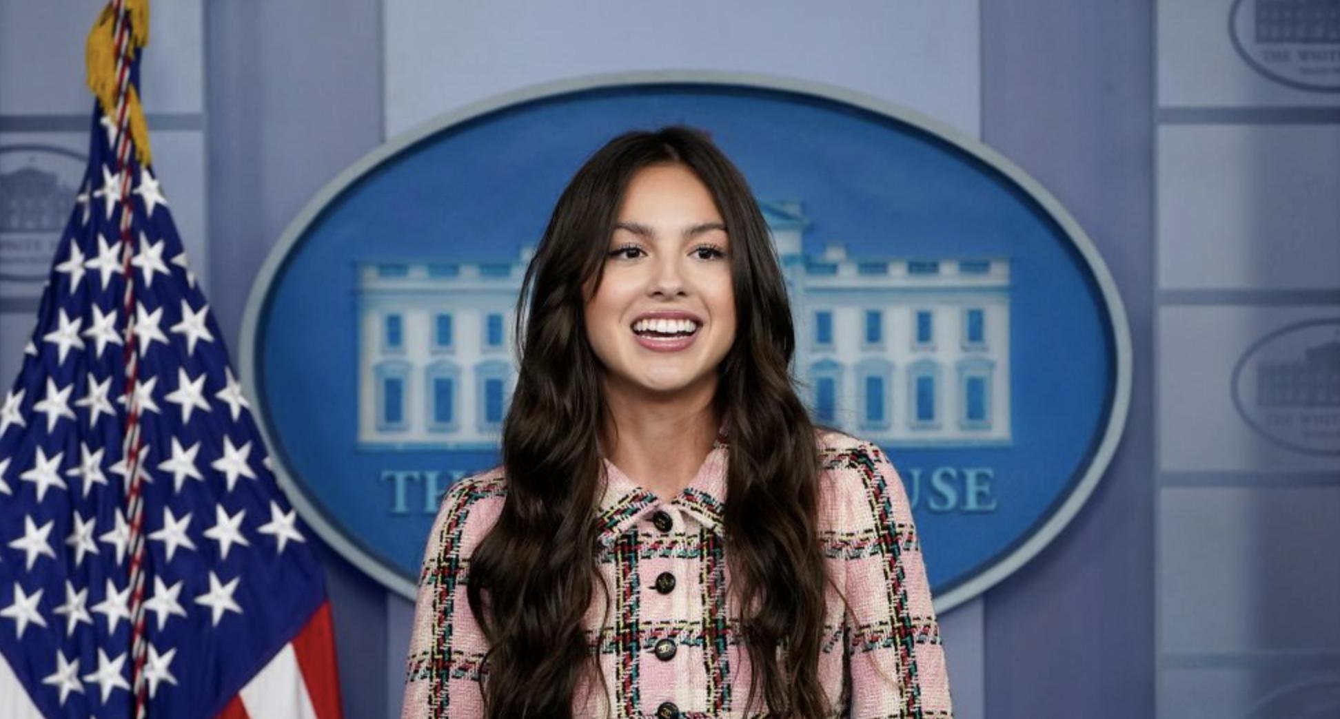 Olivia Rodrigo, White House