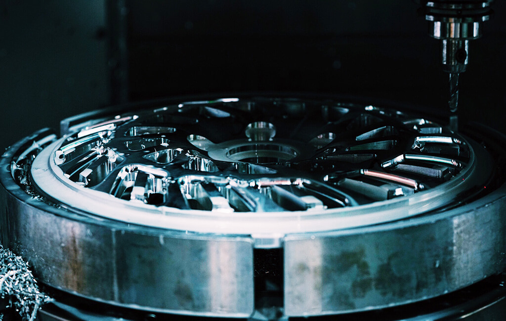 machining wheel perimeter