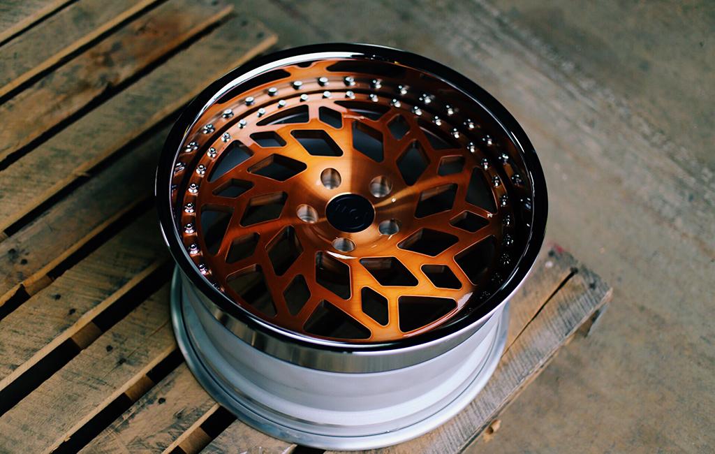 MD1 wheels, copper, watercooledind