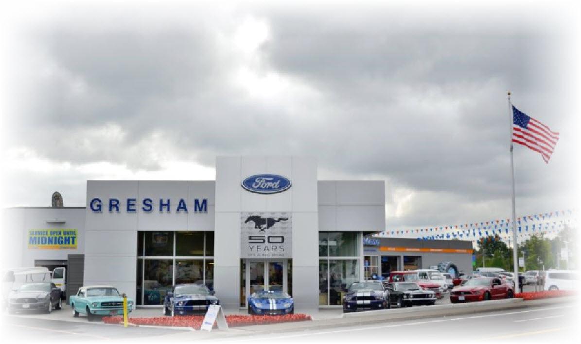 Gresham Ford, Oregon Ford Dealer located in Gresham Oregon
